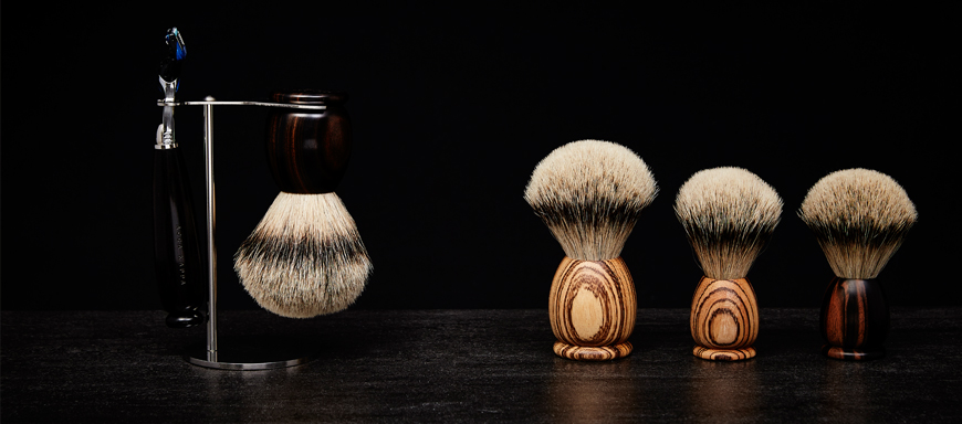 Shaving brushes and sets