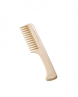 COARSE TOOTH COMB WITH HANDLE