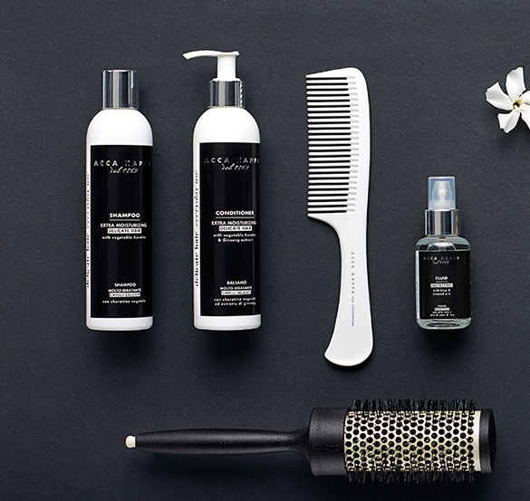 Hair care bianco